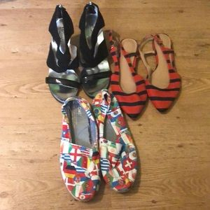 3 pairs shoes bundle